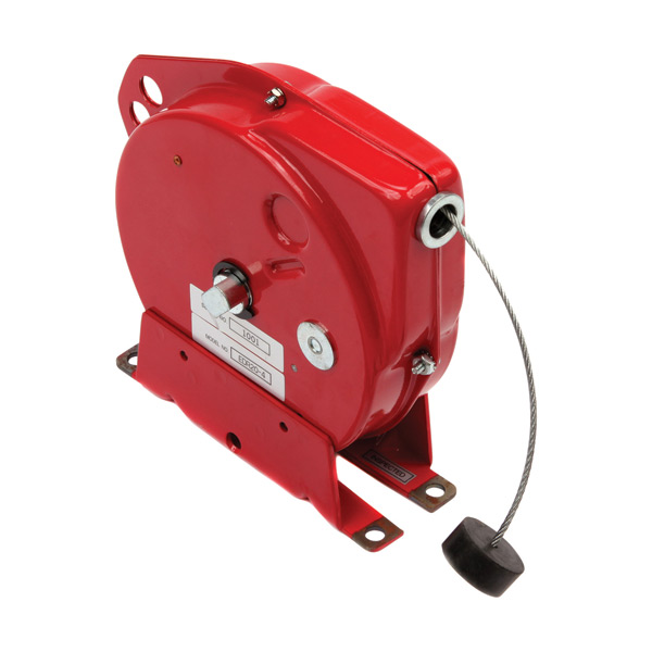 Static grounding cable reel