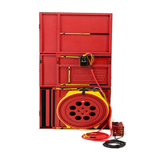 retrotec 6121 pro hi power Blower door kit