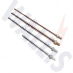 Wallis taper pointed air rods