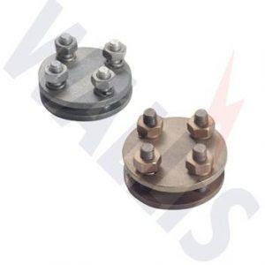 Wallis plate type test clamp