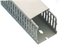 Slotted PVC Panel Trunking (1)