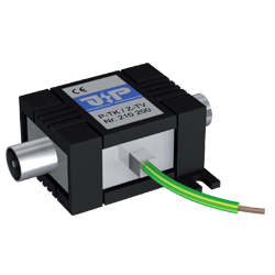 J Propster Surge arrester for 75 Ohm coaxial systems