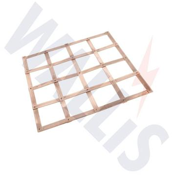 copper lattice earth mats