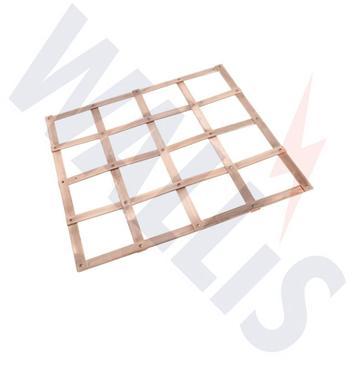 copper lattice earth mats