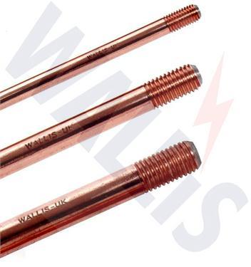 Wallis copper bond earth rods