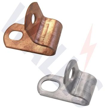 one hole conductor clips
