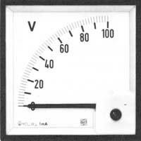 IME A.C. Voltmeter 90 º Scale