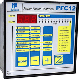 Powerfactor correction electronic regulator
