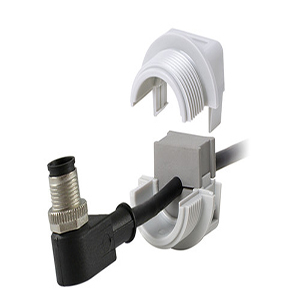 QVT 20 Grey Split Cable Gland & lock