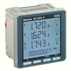 NEMO96HDLe pulses +RS485 Modbus RTU/TCP