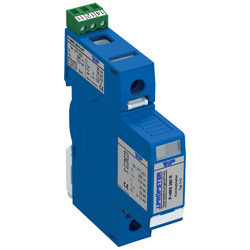 1-pole Combined lightning current and surge arrester type 1 and 2