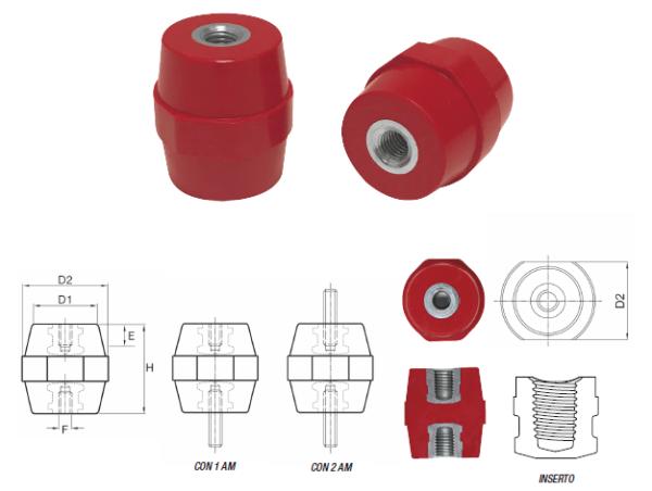 Barrel Type Insulators DB/P