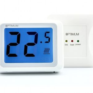 OP-Touch Screen Digital RF Room Thermostat