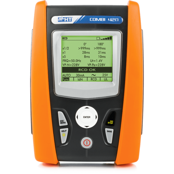 COMBI420 17th Edition Multifunction Installation with single-phase power quality measurement