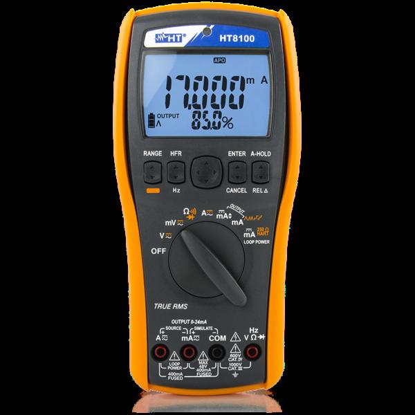 HT8100 Professional process calibrator/multimeter