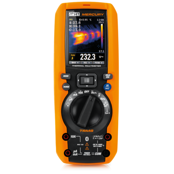 MERCURY Professional multimeter with built-in infrared camera + F3000U AC flexible clamp with 30/300/3000A full scale