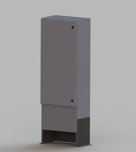 RFE Telecom Cabinet - Three/Single Phase Metered