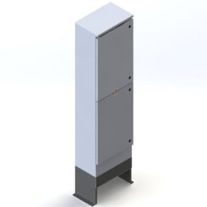 RFE Split Door Cabinet - Three/Single Phase Metered c/w Customer Section
