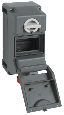 Heavy Duty Interlocked Switched Socket Outlets IP With Compartment67