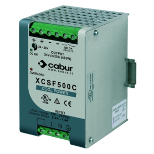 Single-Phase Switching Power Supply 120-230 Vac Output Power 480W