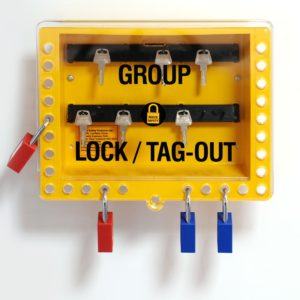GLB1 Wall Mounted Group Lockout Box