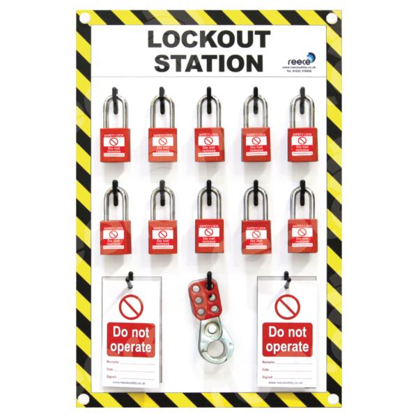 LSE303 Lockout Station