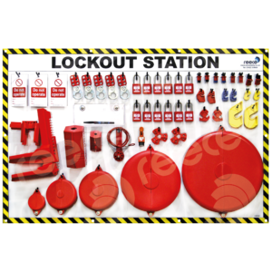 LSE307 Equipment Lockout Station Shadow Board