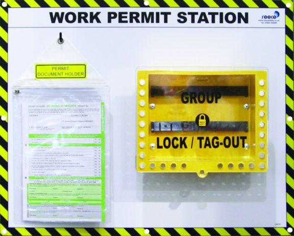 LSE312FS Single Work Permit Station