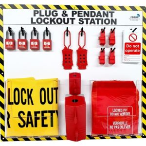 LSE314FS Plug and Pendant Lockout Station