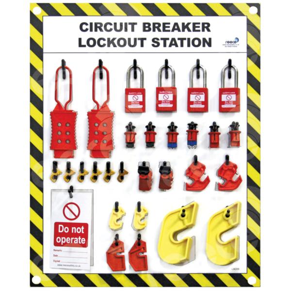 LSE315FS Circuit Breaker Lockout Station