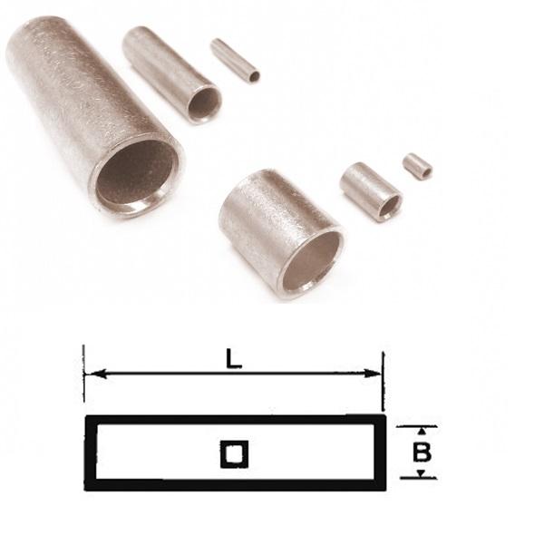 Non-Insulated Butt Connectors