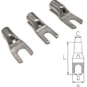 Non-Insulated Power Spade Terminals