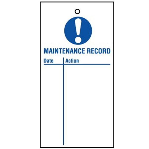 RPT26 Reusable Lockout Tags Maintenance Record