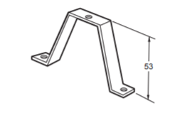 Famatel Window Mounting Clamp for Din-Rail
