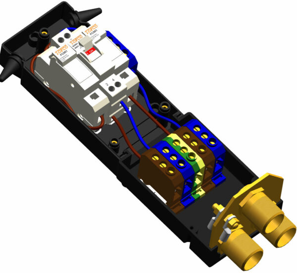 F144DP unit + B21 Extension + IP7 Plate